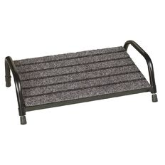 Fluteline Footrest 450 x 260mm Grey