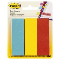 Post-It Page Markers 150 Sheets 22 x 73mm