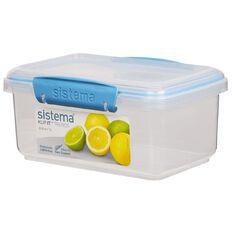 Sistema Klip It Rectangular Container Spring Tone Assorted 1L