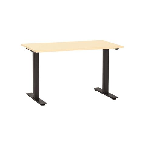 Agile Desk 1200 Nordic Maple/Black