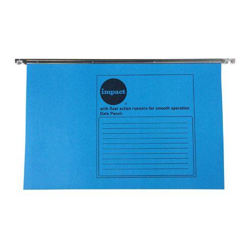 Impact Suspension File 10 Pack Blue