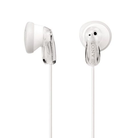Sony In-Ear Earbud MDRE9LPWI White