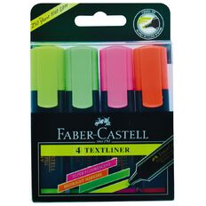 Faber-Castell Highlighters 4 Pack