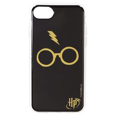 Harry Potter iPhone 6+/7+/8+ Glasses Case Black