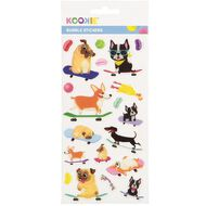 Kookie Sticker Sheet Epoxy Assorted