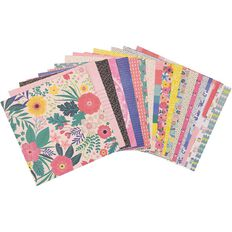 Rosie's Studio Lets Get Together Paper Pack 20 Sheets Mix 12in x 12in
