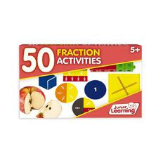 Junior Learning 50 Fraction Activities