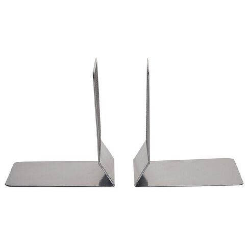 Impact Mesh Bookend Pewter 2 Pack