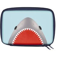 Kookie Sharks Hardtop Moulded Pencil Case