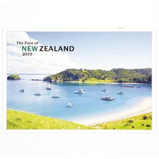 Calendar 2019 The Face of New Zealand Booklet