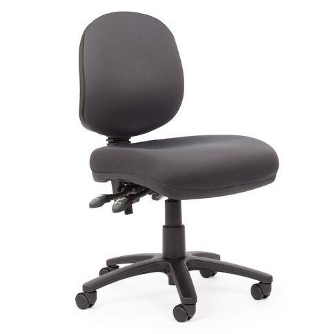 Chairmaster Apex Plus Midback Slate Grey