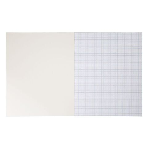 WS Exercise Book 1E5 7mm Quad 36 Leaf Blue