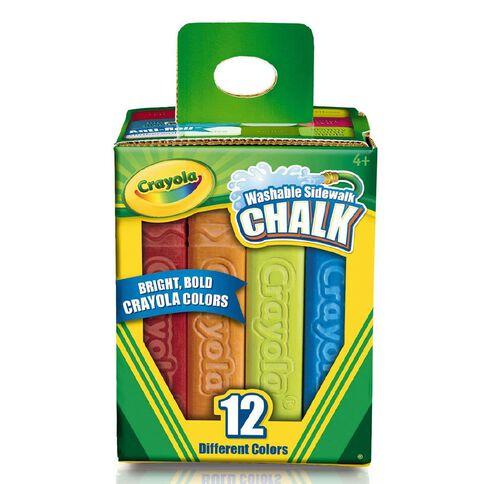 Crayola Sidewalk Chalk 12 Pack 12 Pack