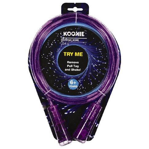 Kookie light up skipping rope warehouse stationery nz kookie light up skipping rope aloadofball Choice Image