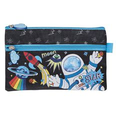 Impact Pencil Case Flat Astronaut