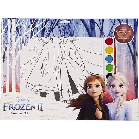 Frozen Poster Art Set A3