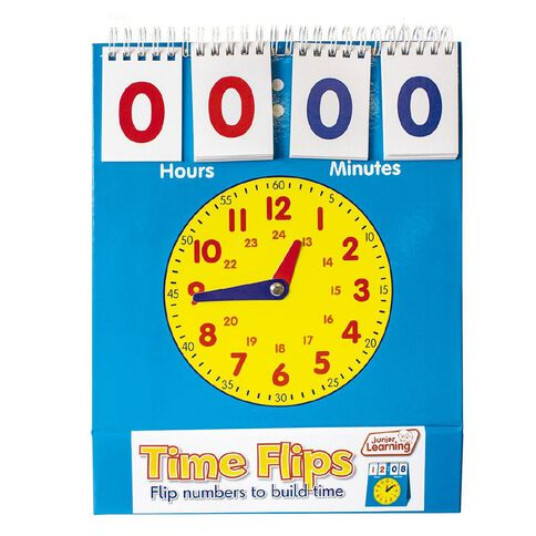 Junior Learning Time Flips Clock