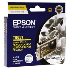 Epson Ink T0631 Black (250 Pages)