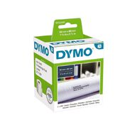 Dymo Label Tape Large Add Paper/White 89mm x 36mm
