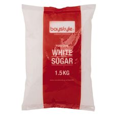 Baystyle Pure Cane White Sugar 1.5kg