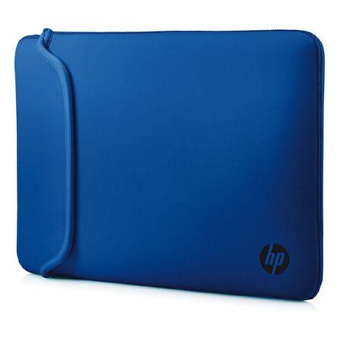 HP 14.0 inch Reversible Neoprene Sleeve Black/Blue