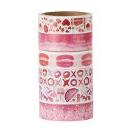 Uniti Washi Tape 6 Pack Love