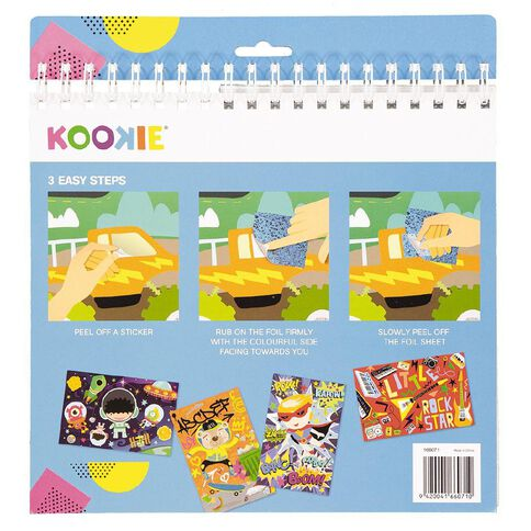 Kookie Activity Pad Fun Foil