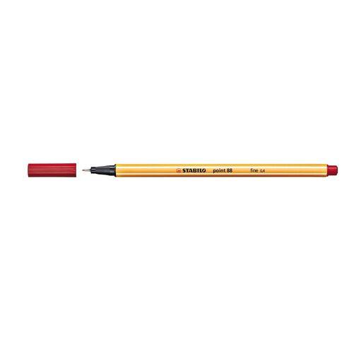 Stabilo Point 88 Fineliner 0.4mm Red