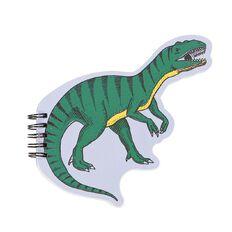 Kookie Chomp Shaped Notepad Dino Teal