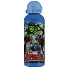 Avengers Marvel Aluminium Bottle 500ml Multi-Coloured