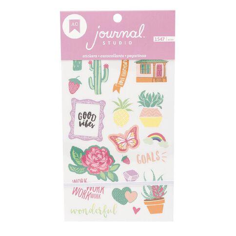 Journal Studio Sticker Book Good Vibes 30 Sheets