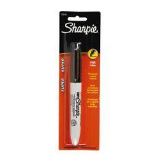 Sharpie Marker Super Black 1 Pack