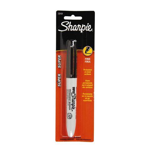 Sharpie Single Marker Super Black 1 Pack