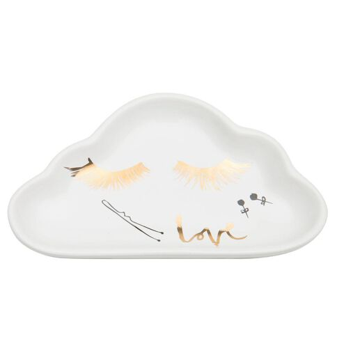 Kookie Ceramic Cloud Jewellery Dish