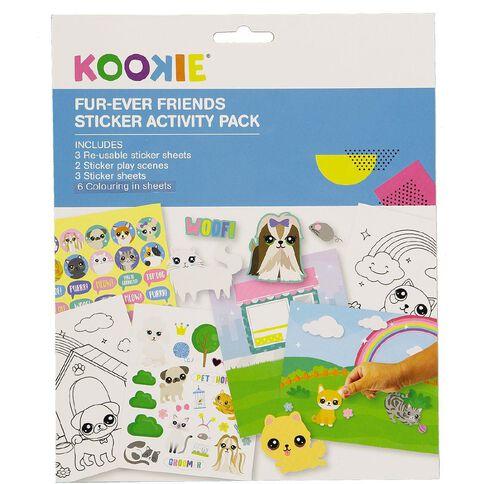 Kookie Sticker Activity Pad Furever Friends