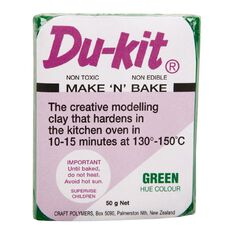 Du-kit Clay Mid Green 50g