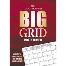 Bartel Bartel 2021 Big Grid Everyday Monthly Planner