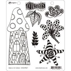 Ranger Dylusions Stamp Down in the Woods