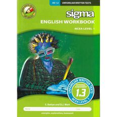 Ncea Year 11 As 1.3 Unfamiliar Written Texts Workbook