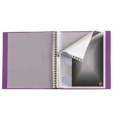 Colourhide Display Book Refills A4 10 Pack Clear