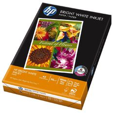HP Photocopy Paper Inkjet 90gsm 500 Pack Bright  White A4