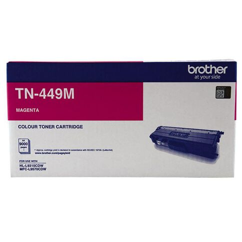 Brother Toner TN449M Magenta (9000 Pages)