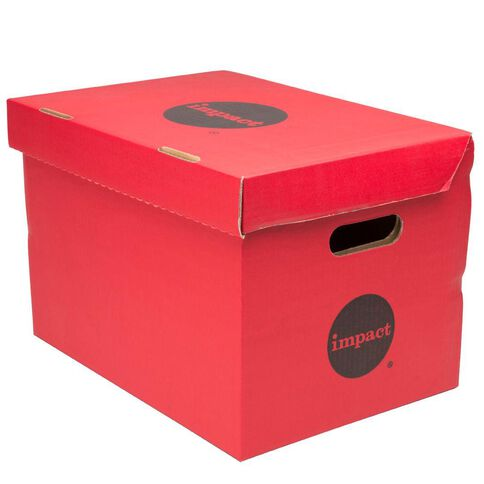 Impact Archive Box Red