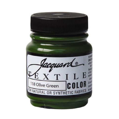 Jacquard Textile Colours 66.54ml Olive Green