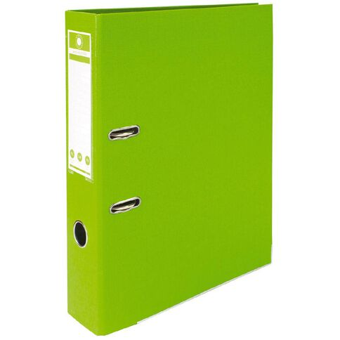 Office Supply Co Lever Arch Green Foolscap