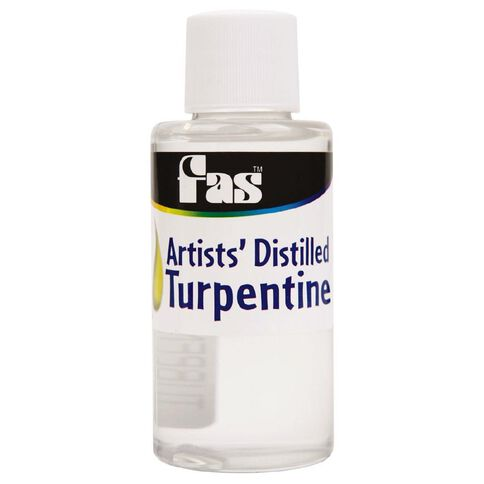 FAS Turpentine 60ml Clear 60ml