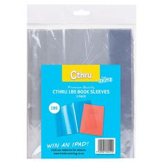 SKINZ Cthru Book Sleeve 1B5 5 Pack Clear