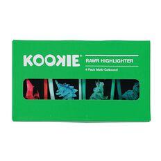 Kookie Rawr Highlighter 4 Pack Multi-Coloured