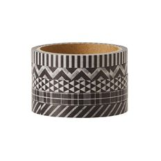 Uniti Washi Tape Thin 5 Pack Black