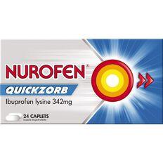 Nurofen Quickzorb Caplets 24s